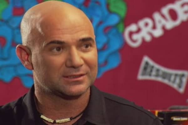 Andre Agassi: Private Sector Best for Education