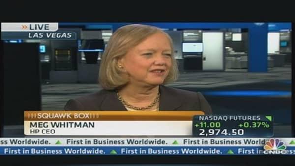 HP's CEO Promotes Turnaround & Tech Innovation