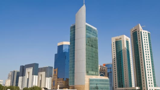 Qatar financial district