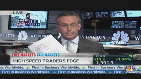 High Speed Traders' Edge
