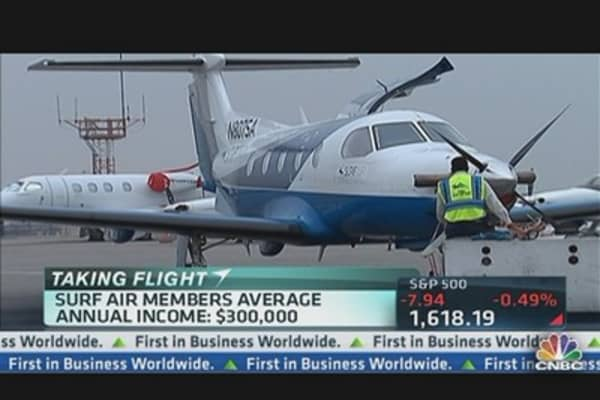 Surf Air Takes Off