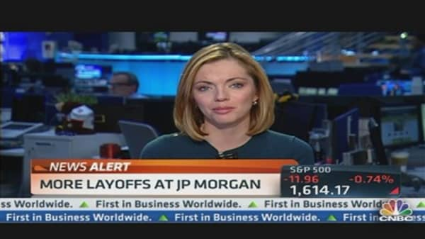 JPMorgan Cutting Jobs