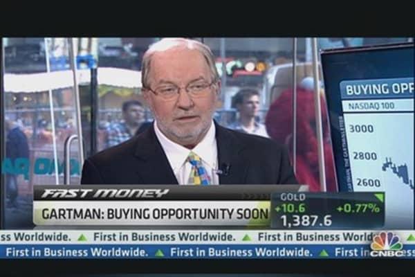 Rates Rise, So Will Stocks: Gartman