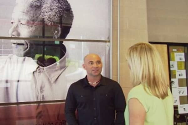 Andre Agassi: Mandela Was an Inspirational Teacher