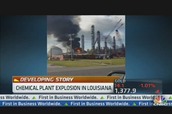 Chemical Plant Explosion in Louisiana
