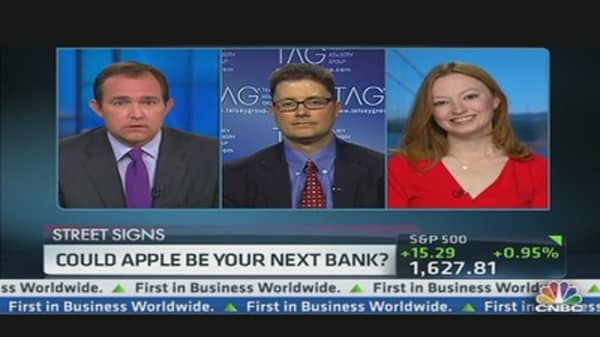 Could Apple Be Your Next Bank?