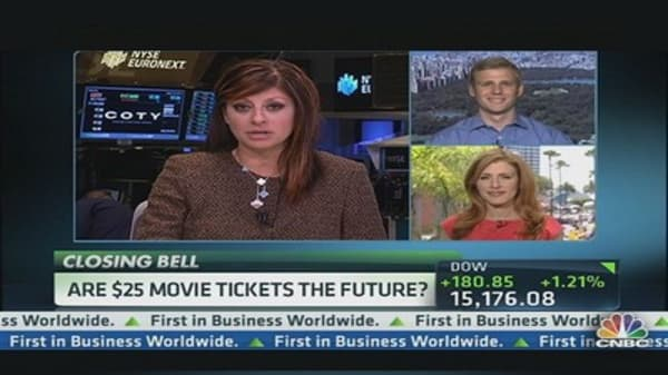 Expect Higher Movie Ticket Prices?