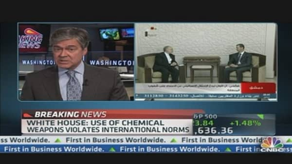 White House: Syria's Assad Regime Used Chemical Weapons
