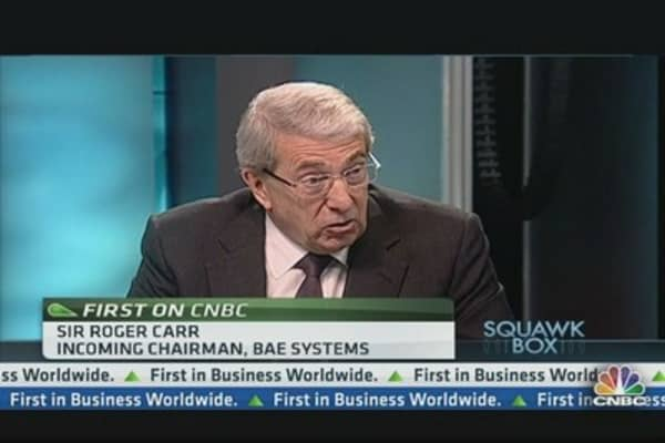 BAE to Remain Independent: Chairman
