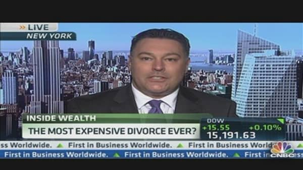Most Expensive Divorce Ever?