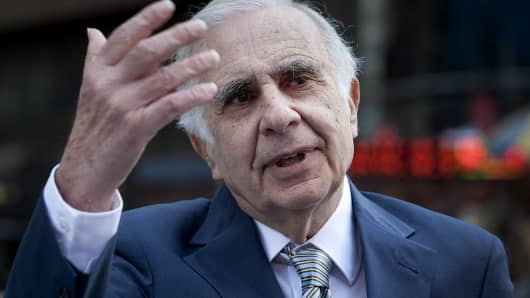 Carl Icahn, billionaire investor and chairman of Icahn Enterprises Holdings LP