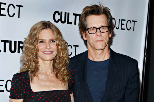 Actors Kyra Sedgwick and Kevin Bacon attend the 2013 Culture Project Gala at Stage 48 on June 3, 2013 in New York City.