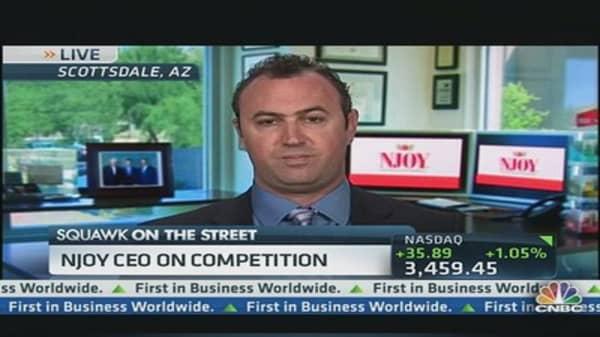 NJOY CEO Challenges Nicotine vs. Caffeine