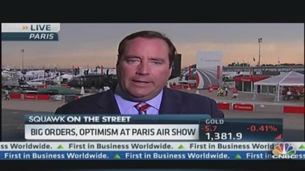 Big-Order Optimism Pervades Paris Air Show