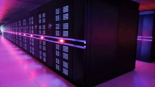 China's Tianhe-2 Supercomputer.