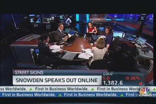 Snowden Speaks Out Online