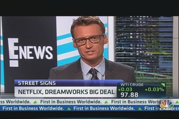 Netflix & DreamWorks' Big Deal