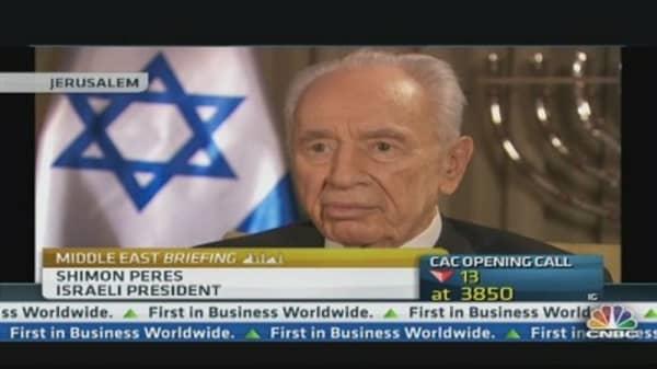 There's No International Community: Israeli President