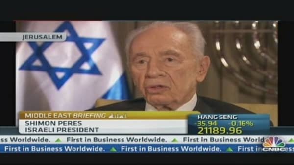 There's No Alternative to Peace: Israel's Peres