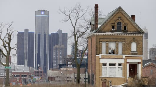 The city of Detroit has faced serious economic challenges in the past decade, with a shrinking population and tax base while trying to maintain essential services.