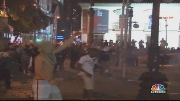 Riots Break Out Across Brazil