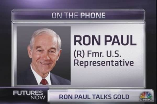 Ron Paul: Gold Could Go to 'Infinity'