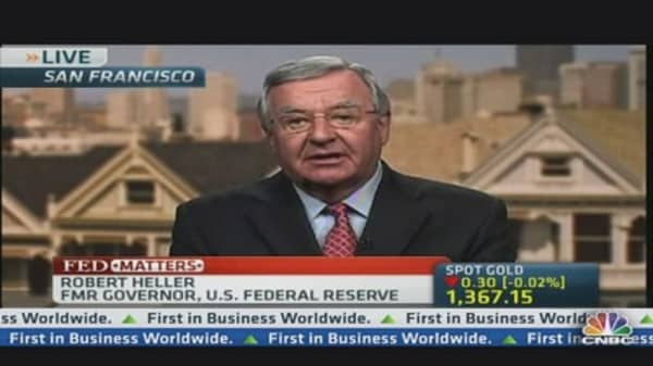 Former Fed Governor Names Yellen as Bernanke Successor