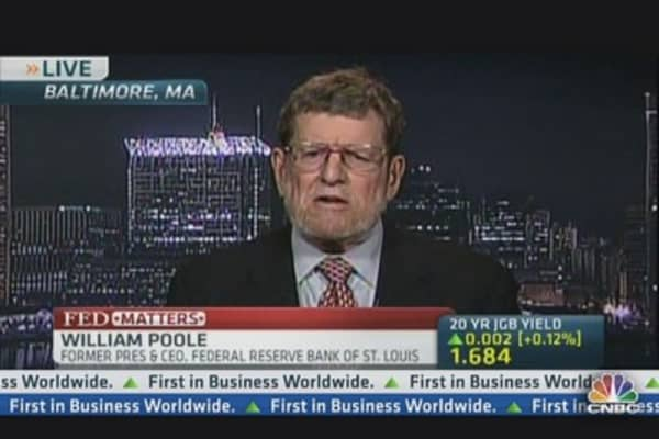 Current Fed Policy Cannot Continue Forever: Ex St Louis Fed Pres