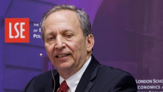 Larry Summers, former Treasury Secretary.