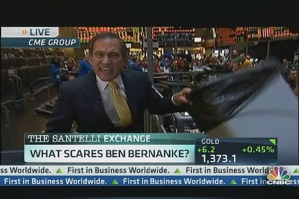 'Ben, What Are You Afraid Of?' Rants Santelli
