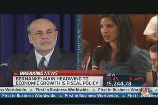 Bernanke Not Commenting on Term Plans