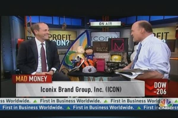 Iconix CEO: We'll Grow At Least 20-25% This Year