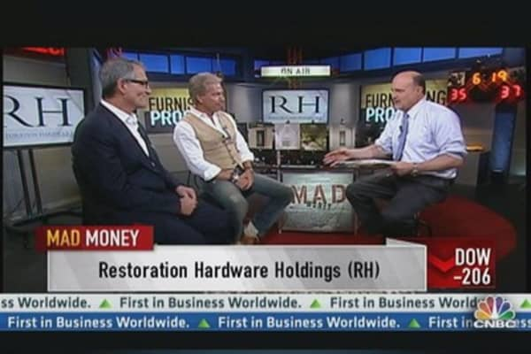 Cramer Checks On Restoration Hardware