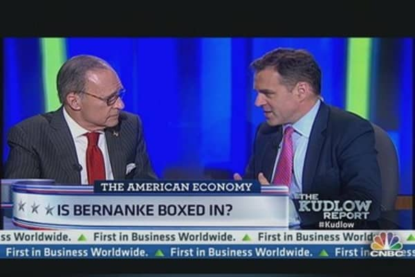 Is Bernanke Boxed In?
