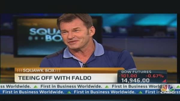 Teeing Off With Nick Faldo