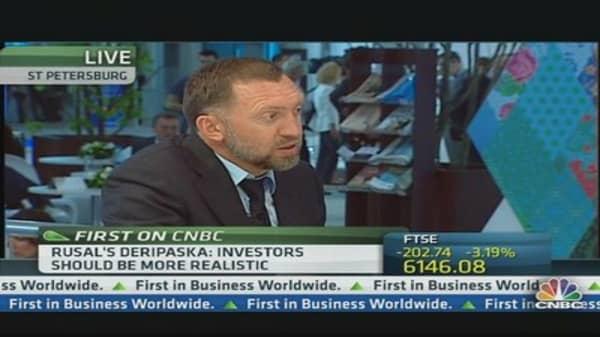 Rusal CEO: Investors Should 'Calm Down'