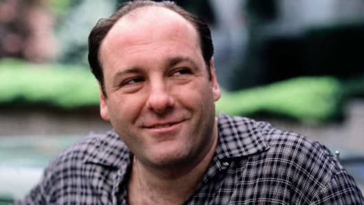 James Gandolfini as Tony Soprano