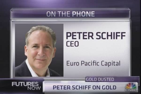 1.	Schiff: Why ¿Vicious¿ Gold Rally is Coming