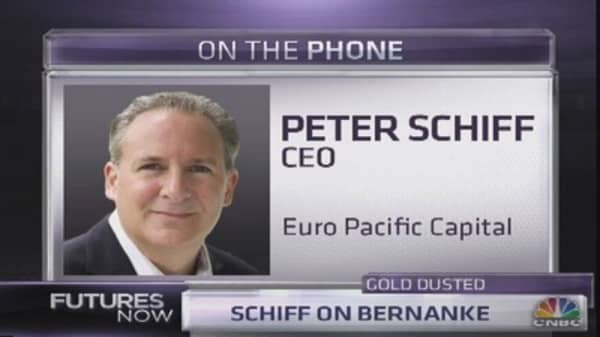 Gold a Generational Buy: Schiff