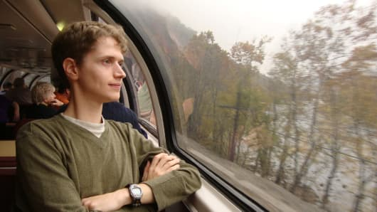 Malcom Kenton, a longtime train traveler, is crowdfunding $5,000 to participate in the inaugural Millennial Trains Project for young American innovators.