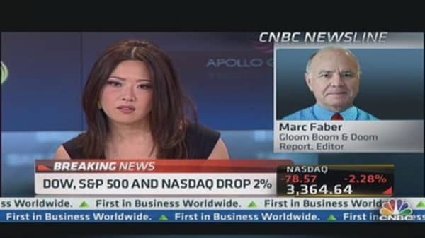 Marc Faber: I See Further Downside to S&P 500