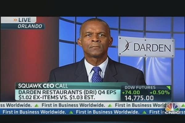 Darden's Otis: People Need Affordability
