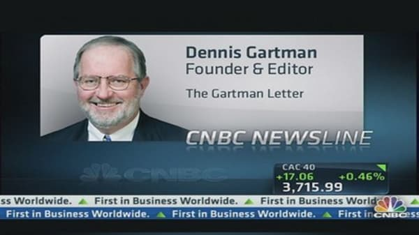 Long Gold, You Have a Problem: Gartman