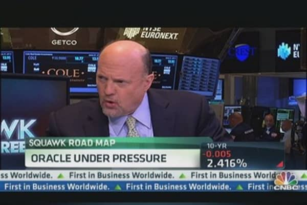 Cramer: I 'Gave Up' on This Stock