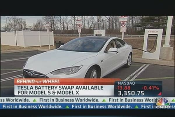Tesla to Offer Quick Swap Option