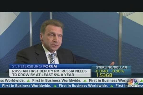 Russia Must Cut Oil Reliance: Deputy PM