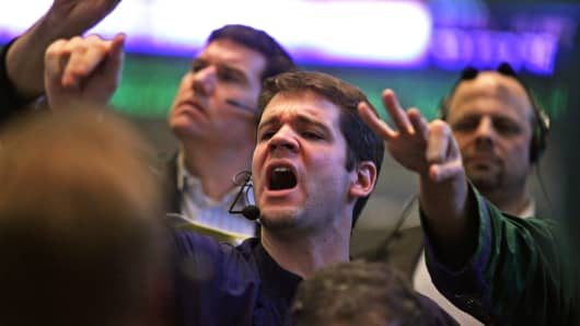 Premium: Bond Traders at CBOE frantic
