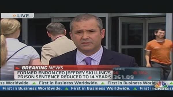 Jeffrey Skilling's Sentence Reduced