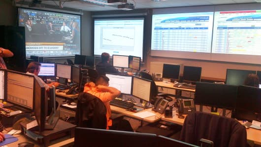 Boeing's 787 Operations Control Center