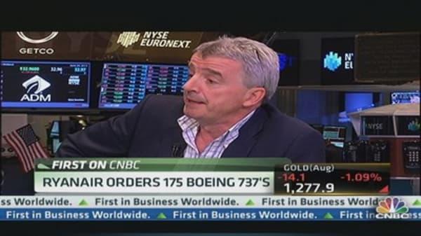 Ryanair Orders 175 Boeing 737s